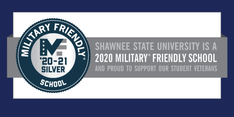 Shawnee State University Military Friendly 2020-2021